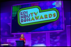 Mel Leach at the Edinburgh TV Awards 2014